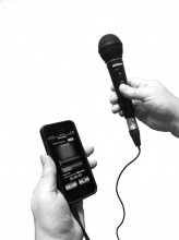 XLR Microphone Adapter allows you to use your favourite professional microphone with iOS devices